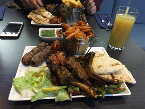 coco queensway the tandoori platter picture of coco s grill house and