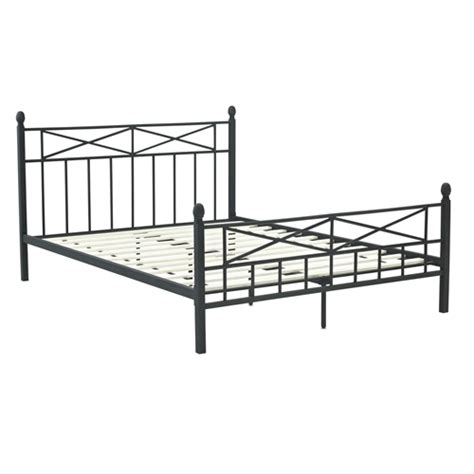 Black Metal Headboard And Footboard by Size Matte Black Metal Platform Bed Frame With