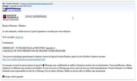 Format Email Societe Generale | fraudes en ligne soci 233 t 233 g 233 n 233 rale