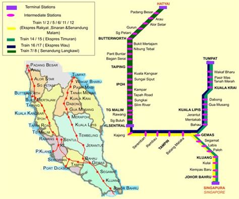 Ktm Timetable Kl To Ipoh Ktm Timetable And Fare Malaysia Travel Guide
