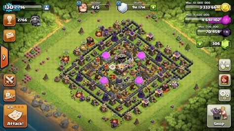 Coc Barbarian Lev 7 selling th11 town 11 level 130 level 6 clash royale