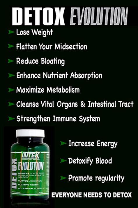 Evolve Detox Pills by Intek Detox Evolution