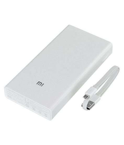 Power Bank Veger 20000 Mah Reel xiaomi yddyp01 20000 mah li ion power bank power banks at low prices snapdeal india