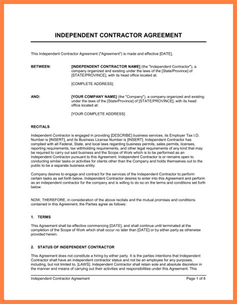 independent sales rep agreement template 9 independent sales contractor agreement template