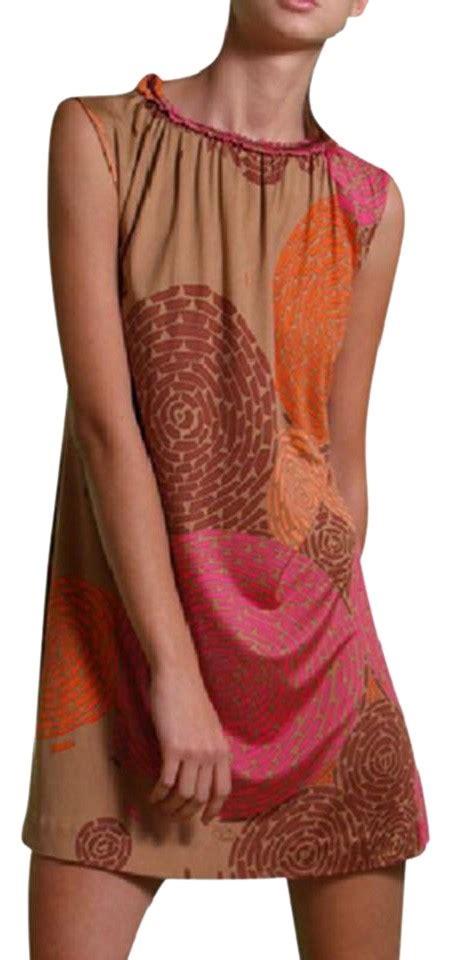 Kung Souvenir Dress Jersey Big Size Pink flora kung nwt toffee pink floral print silk knit tunic shift dress 74 retail