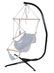Hanging Chair With Stand Hammock C Stand Solid Steel Hammock Air Porch Swing