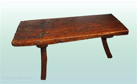 elm bench table primitive elm table pig bench coffee table antiques