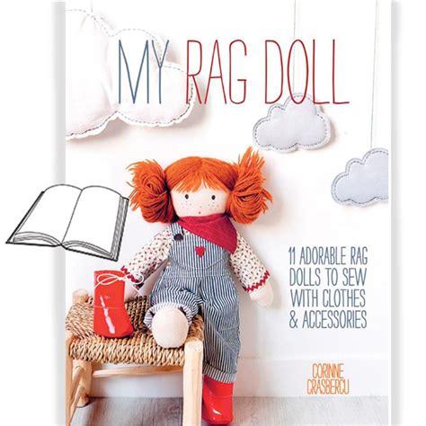 doll design book my rag doll pattern book www homesew com