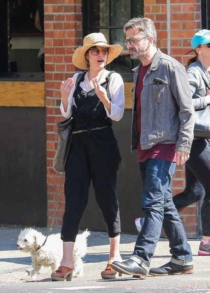 marc maron house parker posey photos photos parker posey walks her dog zimbio