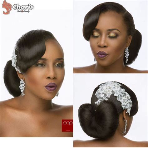 nigeria wedding hair styles for round shape of face 16 stunning hairstyles for nigerian brides