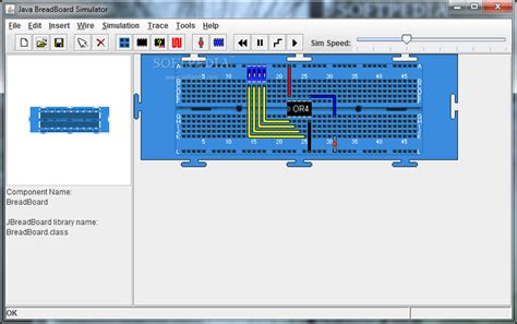 circuit to breadboard software java breadboard simulator
