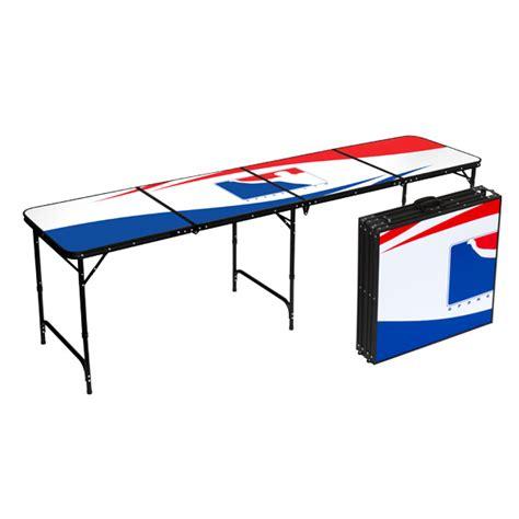 beer pong table bpong 174 logo white tabla02 8ft bpong