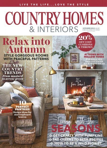 country homes interiors magazine uk subscription buy