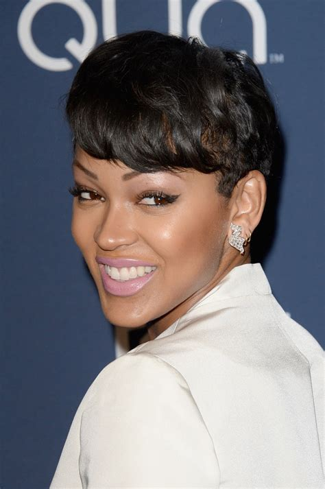 megan good hairstyles 2014 short cut for natural african american hair short
