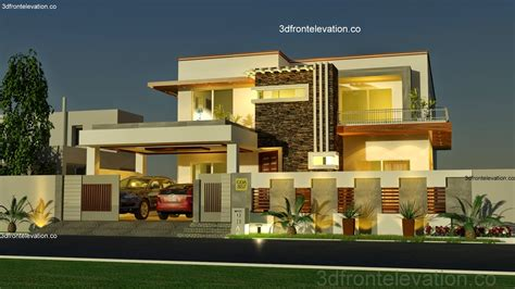 Floor Plans And Elevations Of Houses by Modern House Front Elevation Designs Buscar Con