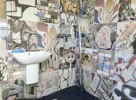 graffiti bathroom tiles top tiling tips from a tiling professional the interior