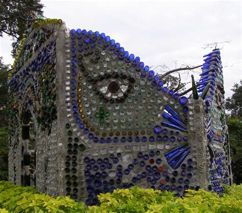 Bottle House by How To Recycle Intriguing Bottle Houses And Walls