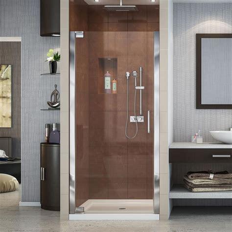 36 inch shower door dreamline elegance 34 in to 36 in x 72 in semi framed