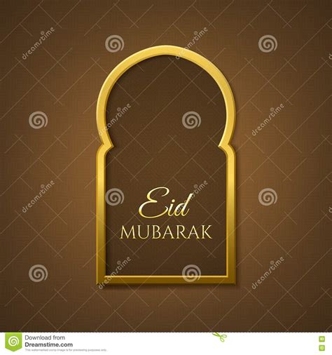 eid card templates eid mubarak background greeting card template stock