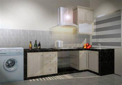 design kabinet dapur untuk apartment design kabinet dapur reka hias rumah teres