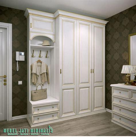 Lemari Pakaian 3 Pintu Duco lemari pakaian 3 pintu minimalis mewah putih duco mebel