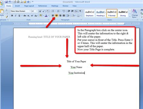 apa format directions apa style and format