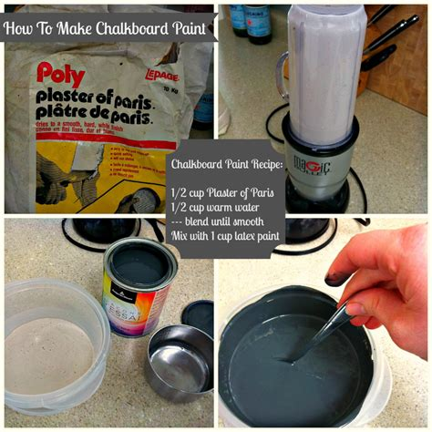 chalk paint diy recipe diy chalkboard paint epic failure turned sweet success