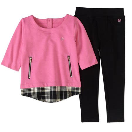 Elglow Top Terlari Limited limited baby toddler woven 2fer top and