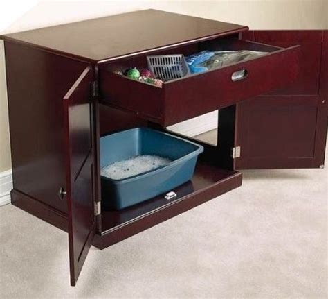 cat litter box table cat litter box cabinet furniture table and 50 similar items