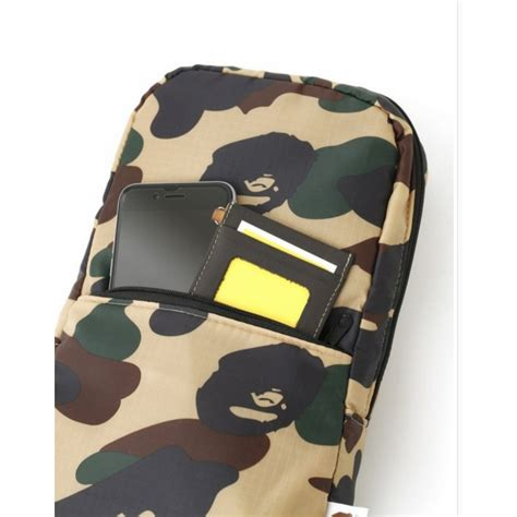 Bathing Ape Sling Bag Camo a bathing ape bape carry on camo sling bag camo
