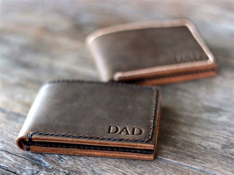personalized leather wallet personalized wallet personalized