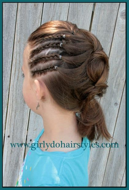 up dos for tweens girly do s by jenn tween side ponytail girly do