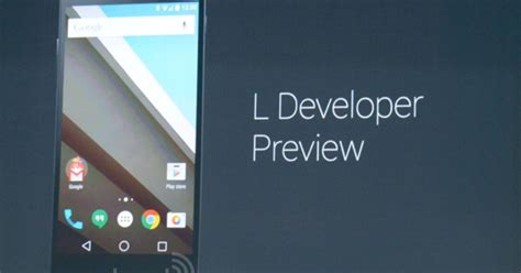 next version of android s next version of android l release has a new look deeper ties to the web
