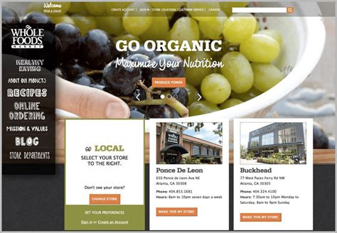 website layout exles 2015 30 eye popping web designs to inspire digital marketers
