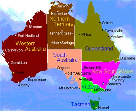 australia map with country names and capitals flower homes flowers of australia s states and territories