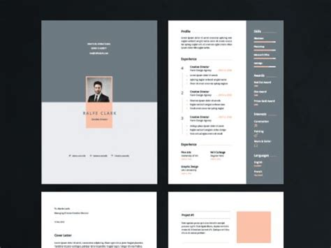 Lebenslauf Vorlagen Pages Free Resume Template