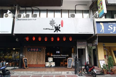 izakaya the japanese pub 1568364326 izakaya kushi raku japanese grill bar ttdi kl malaysian flavours