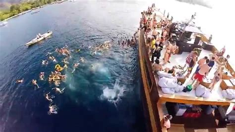 jiggy boat party bali gopro dragon boat party gili trawangan youtube