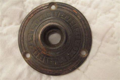 antique brass door knob plate sted design sale