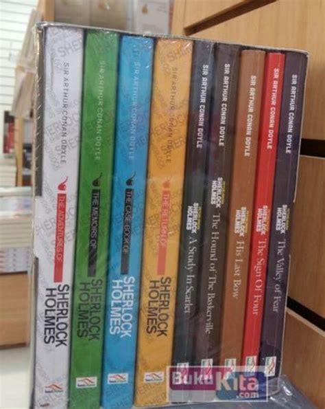 Buku Novel Kisah Sherlock bukukita boxset sherlock sholmes toko buku