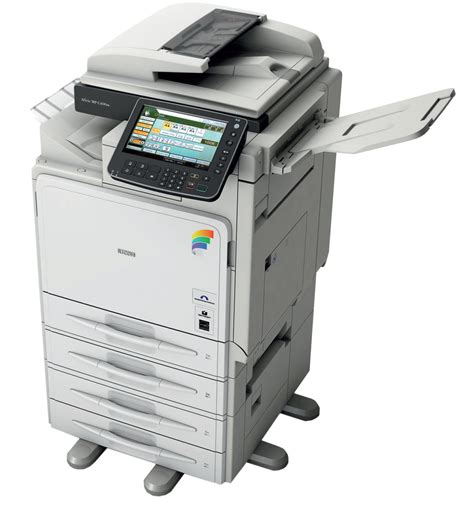 mp an ricoh aficio mp c400 multifunction color copier copyfaxes
