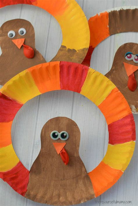 Thanksgiving Crafts With Paper Plates - turkey crafts the ultimate thanksgiving collection for