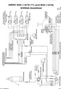 mercury 800 wiring diagram