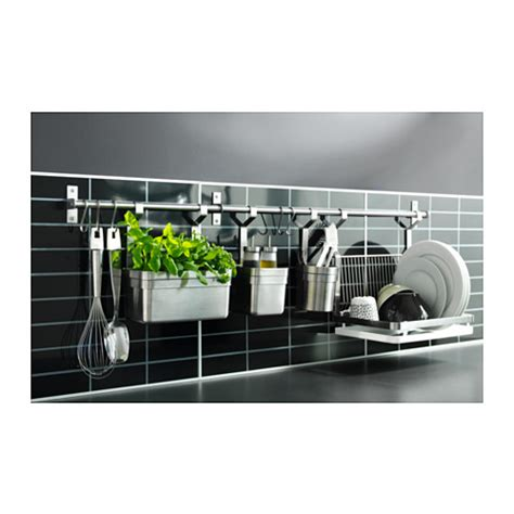 Ikea Grundtal Tempat Wadah ikea grundtal wadah 25x13x28 cm stainless steel elevenia