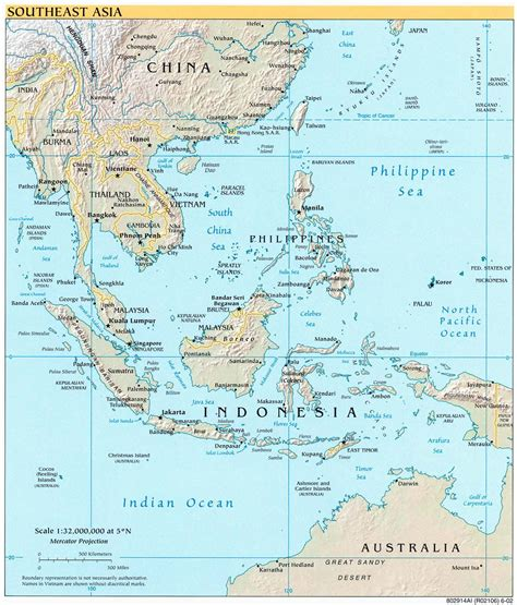 singapore map asia detailed political map of southeast asia southeast asia