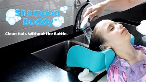 How To Wash Your Hair In The Sink by Shoo Buddy The End Of The Hair Washing Battles By