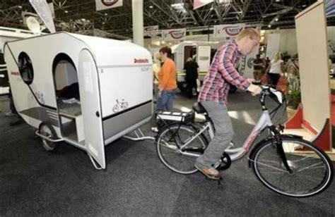 Bicycle Sleeper Trailer by Bike Cers 12 Mini Mobile Homes For Nomadic Cyclists Urbanist