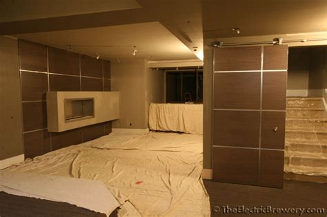 basement sliding doors rooms