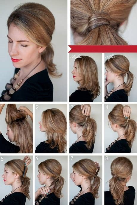 step by step hairstyle tutorials for women 5 new hairstyles 2017 for girls easy