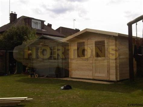 Michael Cabin by Michael 3x2 5m Insulated Log Cabin Hortons Portable